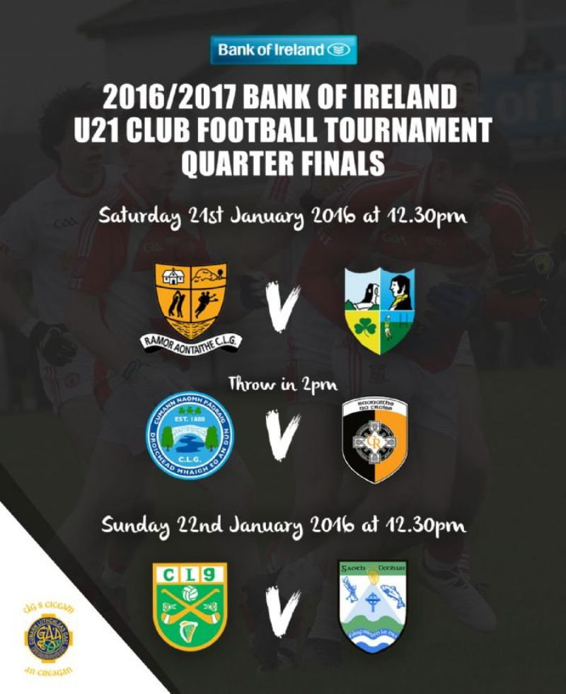 Quarter Finals - January 21st - 22nd 2017